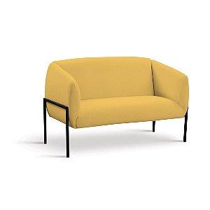 Sofá 2 Lugares Adeline Amarelo