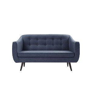 Sofá Retro Azul Marinho