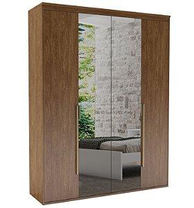 Roupeiro Originale 4 Portas 2 c/ Espelho 1785 mm Álamo
