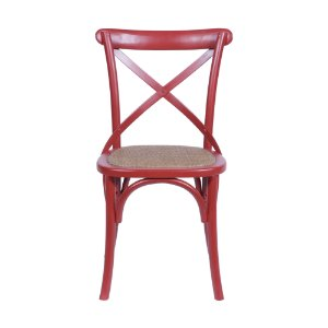Cadeira Cross Vermelha