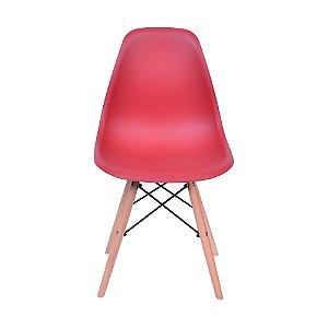 Cadeira DKR Base Madeira Telha