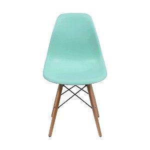 Cadeira DKR Base Madeira Tiffany