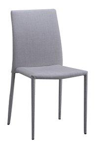Cadeira Glam Em Linho Bege