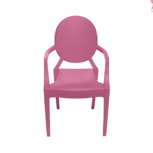 Cadeira Invisible Infantil kids Rosa