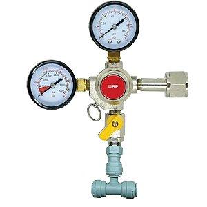Regulador de Pressão CO2 Duas saídas (c/ DMFIT 3/8) - CGA320