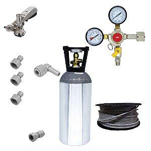 Kit Completo para Chopeira Elétrica - 1 Via - (CO2 4.5kg)