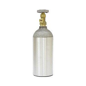 Cilindro de CO2 em Alumínio 1,13kg (Portátil) – Sem Carga