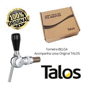 Torneira BELGA para Chopp Cromada - Talos