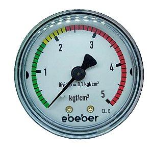 Manômetro de Baixa para Regulador de CO2 - Ebeber/ Wika