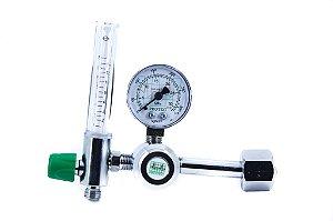 Válvula Reguladora de Pressão para Oxigênio com Fluxômetro - Protec