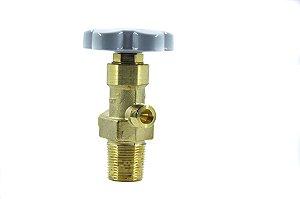 Válvula Para Cilindro de Aço Para N2O - Entrada W28,8