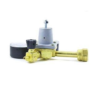 Regulador de Pressão CO2 com Espigão (1 saída) - UMF
