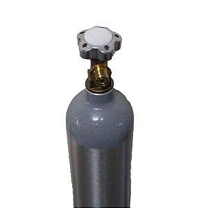 Cilindro de CO2 em Alumínio 2.3kg (portátil) – Sem Carga