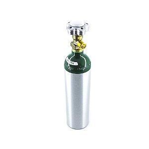 Cilindro em Alumínio para Oxigênio 1L – Sem Carga
