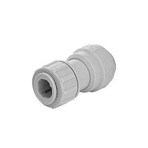 Conexão Rápida Tubo X Inox - 3/8 X 3/8 - DMFIT