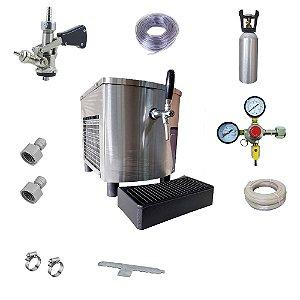 Chopeira Eletrica Pratica 30L/H 01T 220v (Inox) Completa
