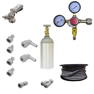 Kit Completo Chopeira Elétrica - 2 Vias - 1 Chope (CO2 1,13 kg)
