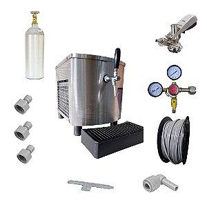 Chopeira Eletrica Pratica 30L/H 01T 127v (Inox) Completa