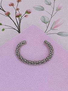 Bracelete com detalhes de esferas- prata ou dourado