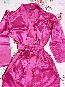 Hobby de cetim - preto, pink, salmão ou off white