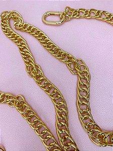Cinto Elos dourados duplos