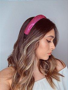 Tiara Juliete strass rosa