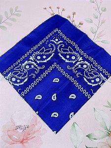 Bandana Azul royal.