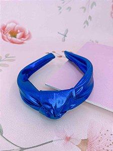 Arco nó azul royal metalizado