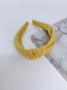 Arco Nó tecido holográfico - amarelo