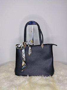 Bolsa com lenço - preta
