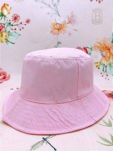 Chapéu bucket - rosa claro