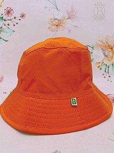 Chapéu bucket - laranja