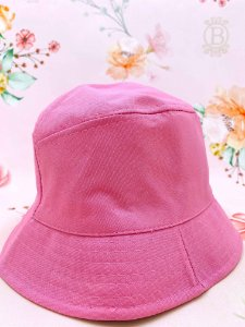 Chapéu bucket - rosa chiclete