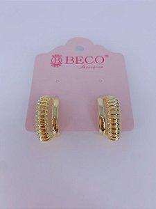 Ear Hook tracinhos - dourado ou prata