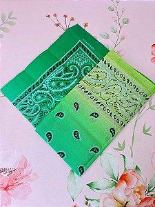 Bandana degradê verde