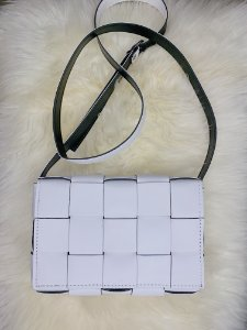 Bolsa trançada - branca