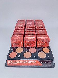 Blush ultrafino matte - 6 opções de cores