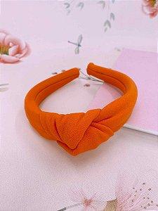 Arco nó tecido laranja