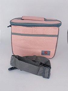 Necessaire térmica com alça ajustável - rosa