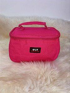 Necessaire organizadora para maquiagem - pink