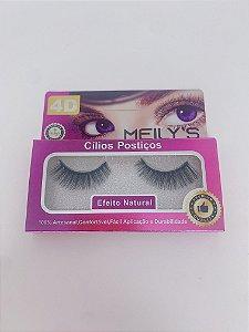 Cílios postiços 3D MEILY'S efeito natural - nºMCL-4020