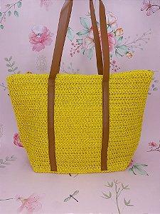 Bolsa de praia - amarela