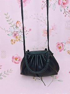 Mini bolsa Pouch Bag - off white, bege, rosê, caqui, terracota, verde ou preta