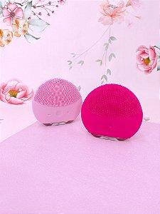 Esponja de limpeza facial elétrica Forever-pink ou rosa claro