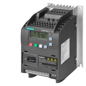 INVERSOR ESCALAR MONOFASICO 1.5CV 220VCA V20 SIEMENS 6SL32105BB211UV0