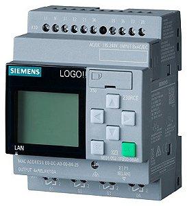 CLP LOGO BASICO 230RCE 8ED/4SD V8.2 SIEMENS 6ED10521FB080BA0