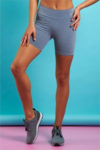 Shorts Vitta New Essential Cinza