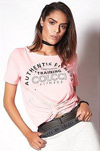 Camiseta Colcci Authentic Rosa