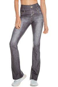 Calça Flare Live Jeans Rush Black