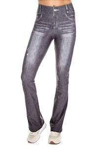 Calça Flare Live Jeans Beat Black